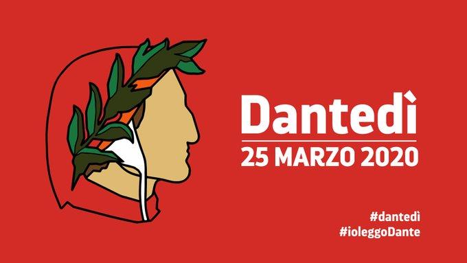 #dantedì – 25 marzo giornata nazionale dedicata a Dante